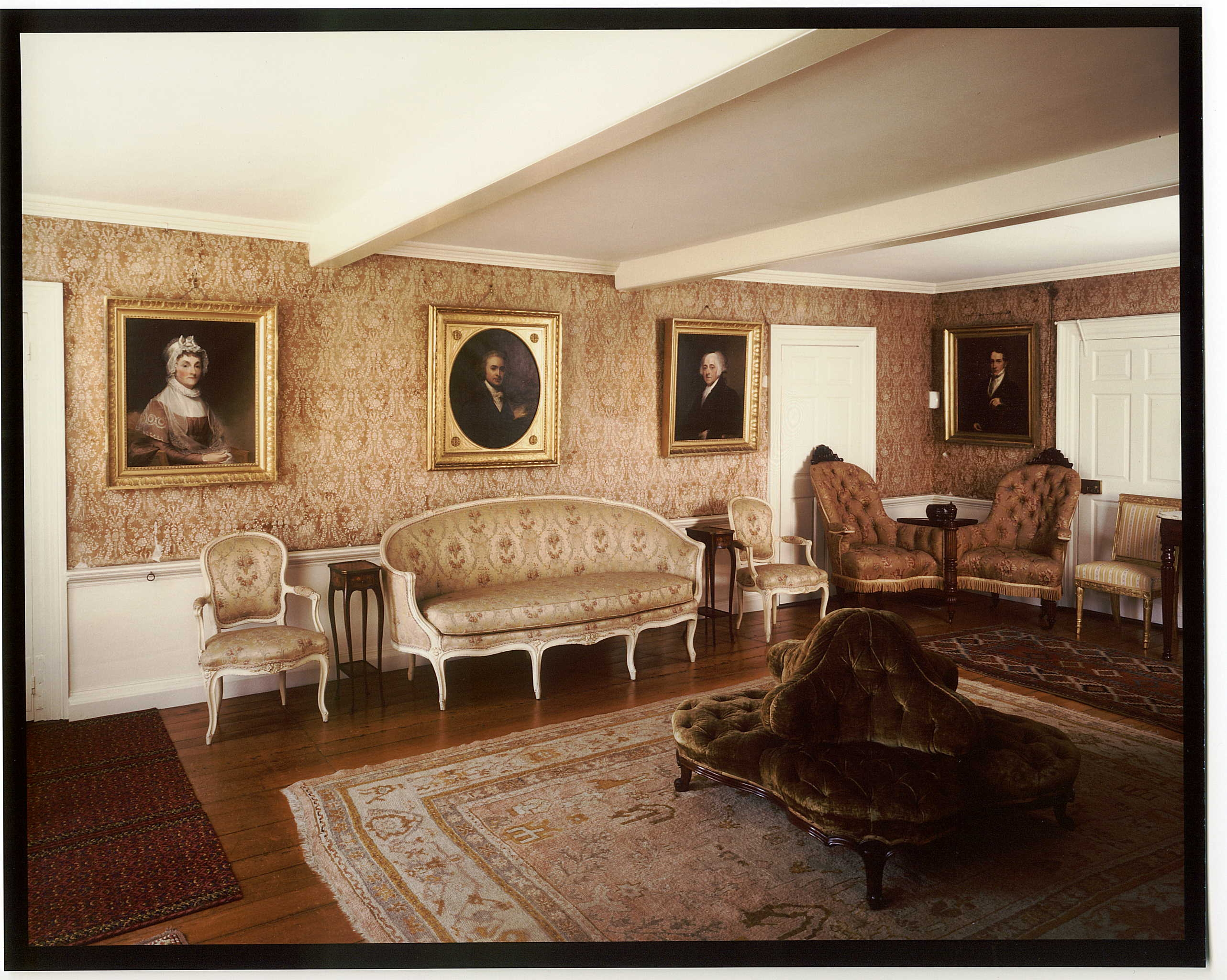Long Room Of The Old House, West View
