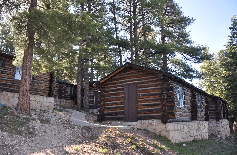 Superbe Grand Canyon Lodge North Rim Frontier Cabins 0419