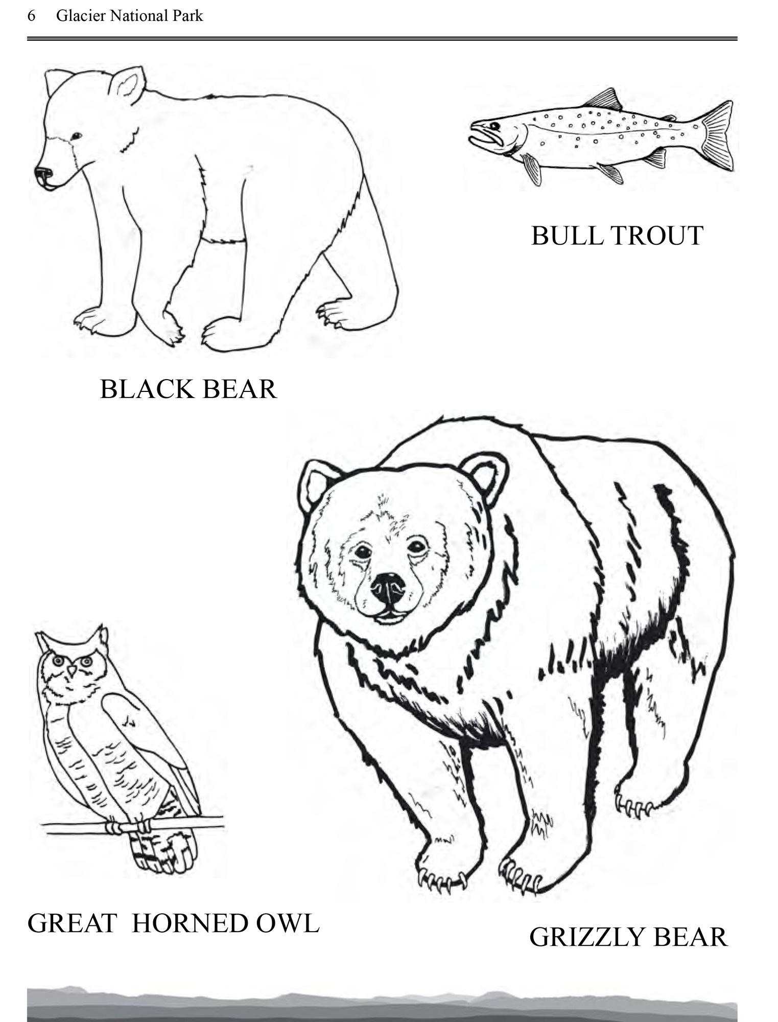 Free Bear Coloring Pages | 2000x1523
