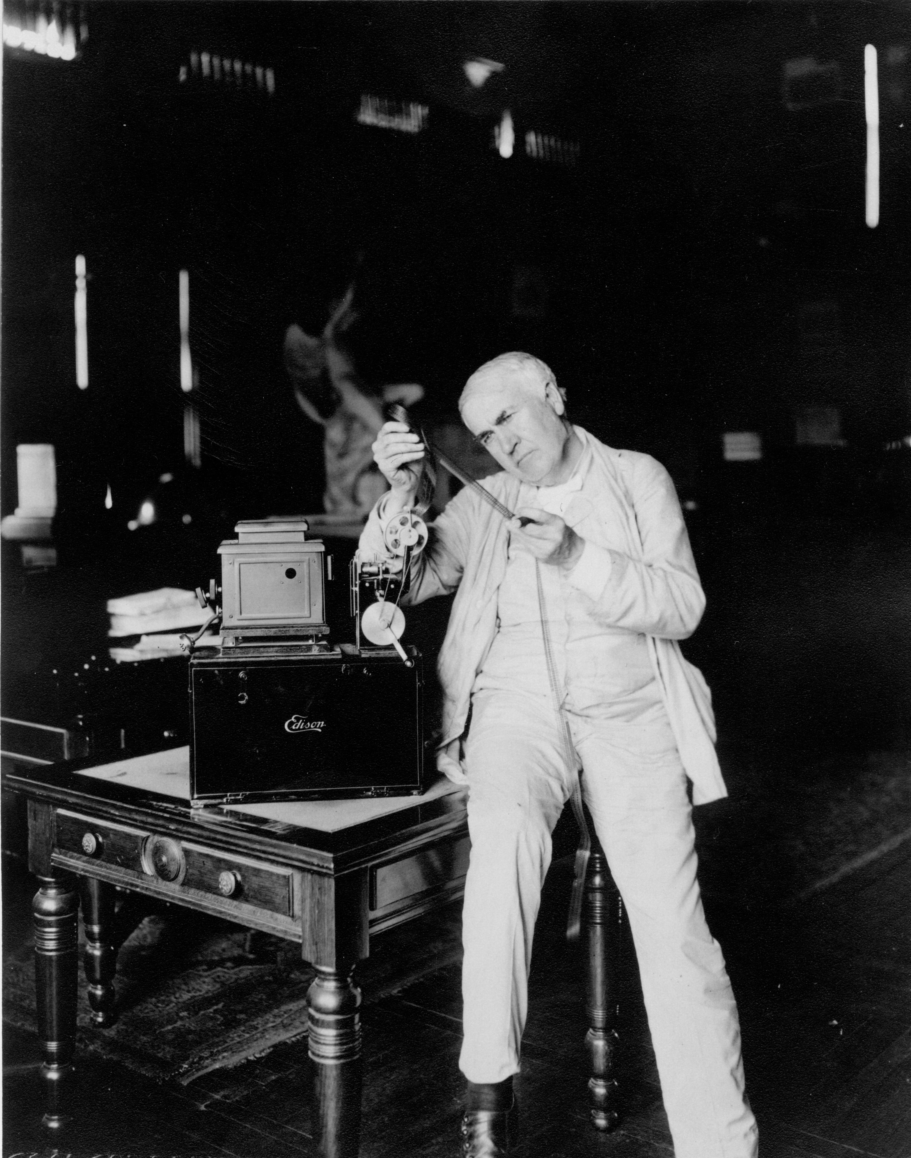 Photo Gallery (U.S. National Park Service) for Kinetoscope Thomas Edison  35fsj