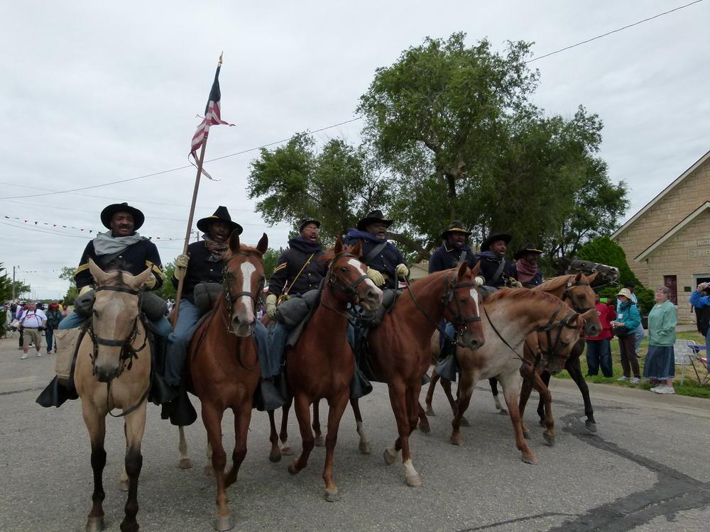 Nicodemus 10th Cavalry Reenactment Troop