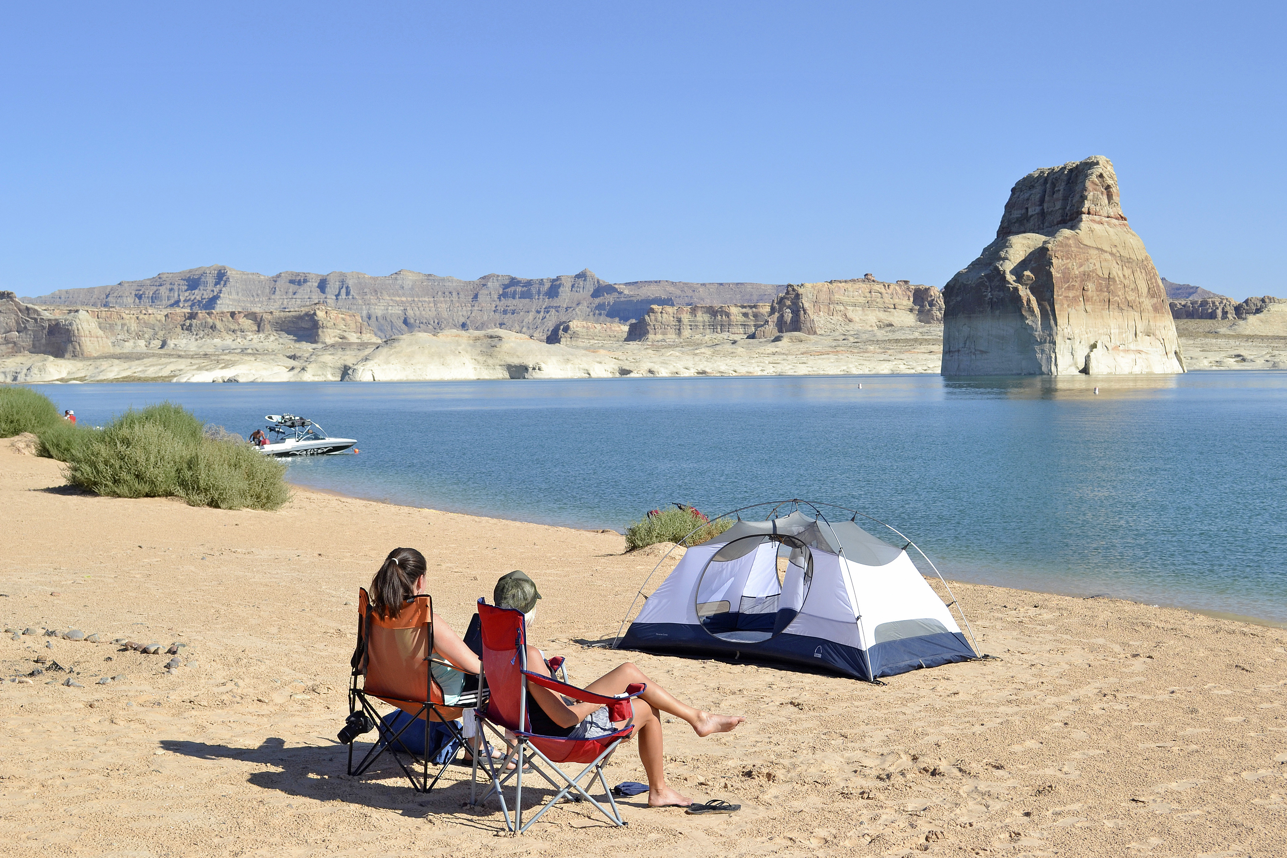 Lake Powell Rv Beach Camping The Best Beaches In World