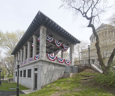 The Overlook Pavilion at Grant's Tomb