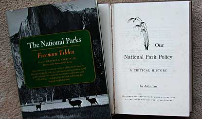 Two classic studies of the National Park System.