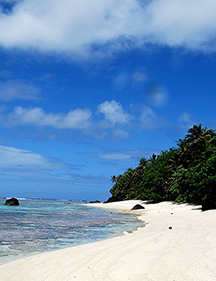 Ofu island beach photo