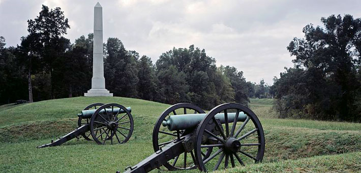 Photo of the Vicksburg battlefield, photo courtesy of the Library of Congress, Photographs in the Carol M. Highsmith Archive