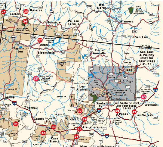 Graphic 1 4 Map Of American Southwest