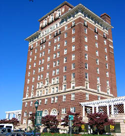 Battery Park Hotel Asheville North Carolina A National