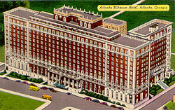 Historic Postcard Of Biltmore Hotel And Apartments