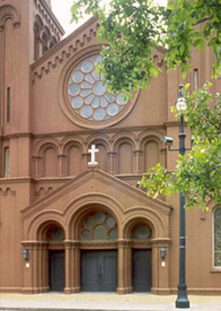 Chuch Of The Sacred Heart Of Jesus Atlanta A National