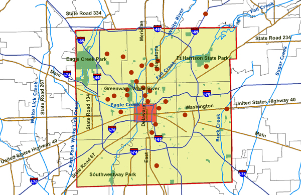 County MapIndianapolis A Discover Our Shared Heritage