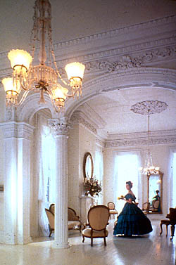 These Walls Of White Nottoway Plantation