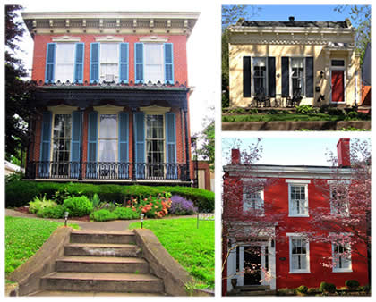 architecture essay    madison  indiana  a discover our shared    image details  left to right   the hendricks beall house  at