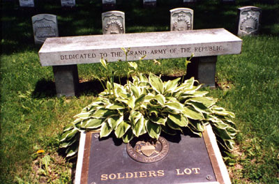 Forest Hill Cemetery Soldiers' Lot--Civil War Era National