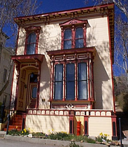 Piper Beebe House Three Historic Nevada Cities Carson City Reno And Virginia City A National Register Of Historic Places Travel Itinerary