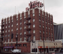 The El Cortez Hotel Photo By Mella Rothwell Harmon Courtesy Of Nevada State Historic Preservation Office