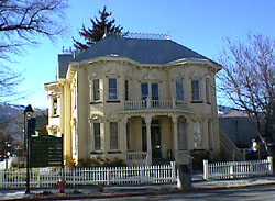 Rinckel Mansion Three Historic Nevada Cities Carson City Reno And Virginia City A National Register Of Historic Places Travel Itinerary