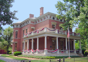 Benjamin Harrison Home--Presidents: A Discover Our Shared ...  Benjamin Harrison House