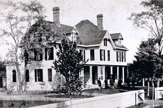 James Garfield S Home During The 1880 Election Courtesy Of The Lake County Ohio Historical Society