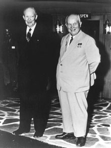 the foreign policy of president dwight eisenhower during the cold war Dwight eisenhower and american foreign policy  dwight eisenhower and american foreign policy during  in the cold war unquestionably, eisenhower.