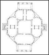 Thomas jefferson 39 s poplar forest presidents a discover for Poplar forest floor plan