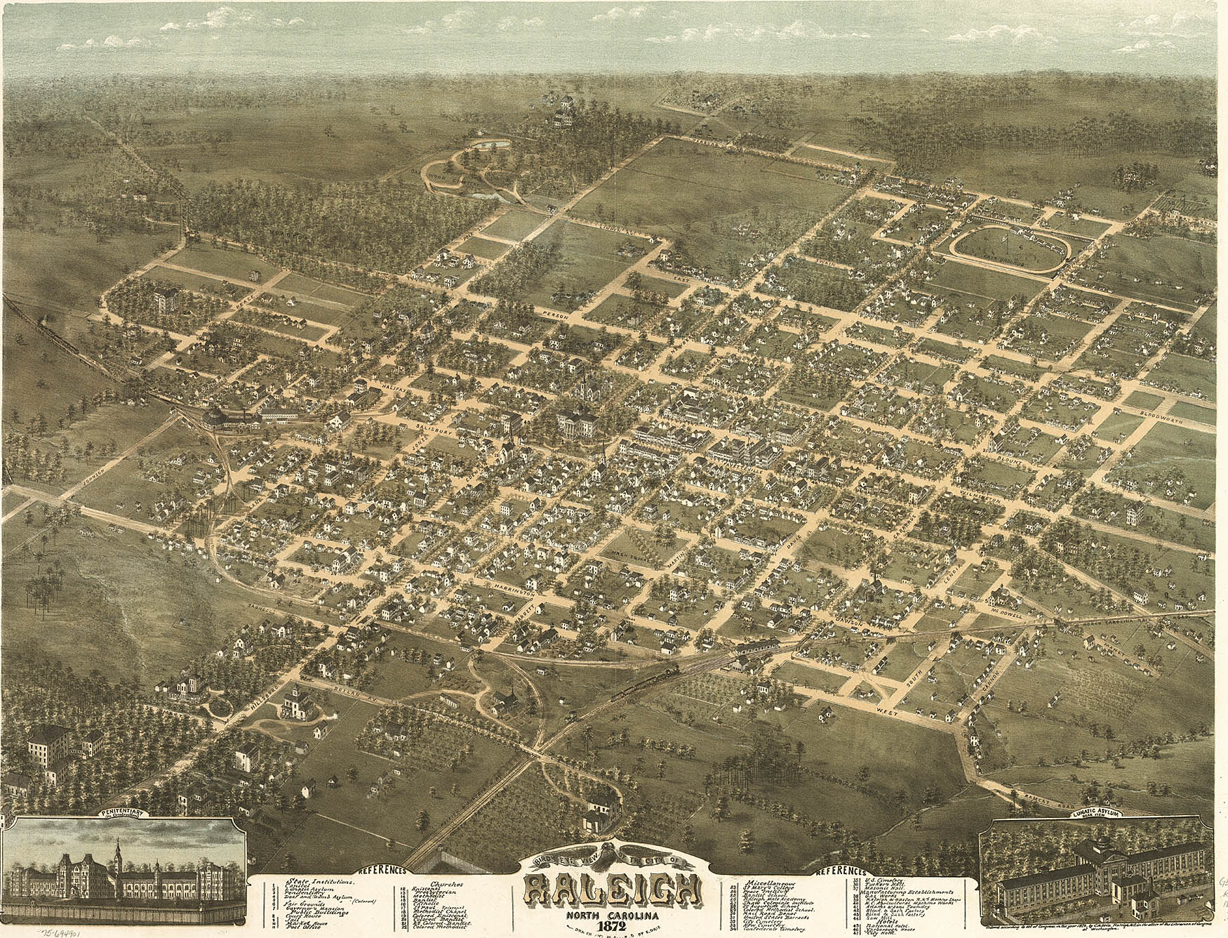 Early History Raleigh A Capital City A National