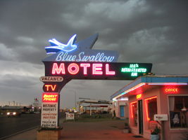 Blue Swallow Motel Tucari Nm New Images