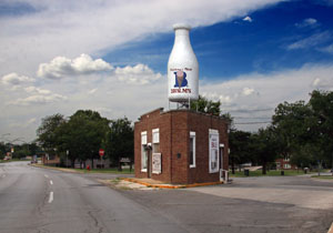 Milk Bottle Grocery Route 66 A Discover Our Shared