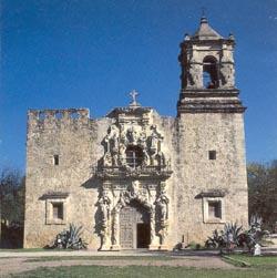 Mission San Jose Y San Miguel De Aguayo South And West