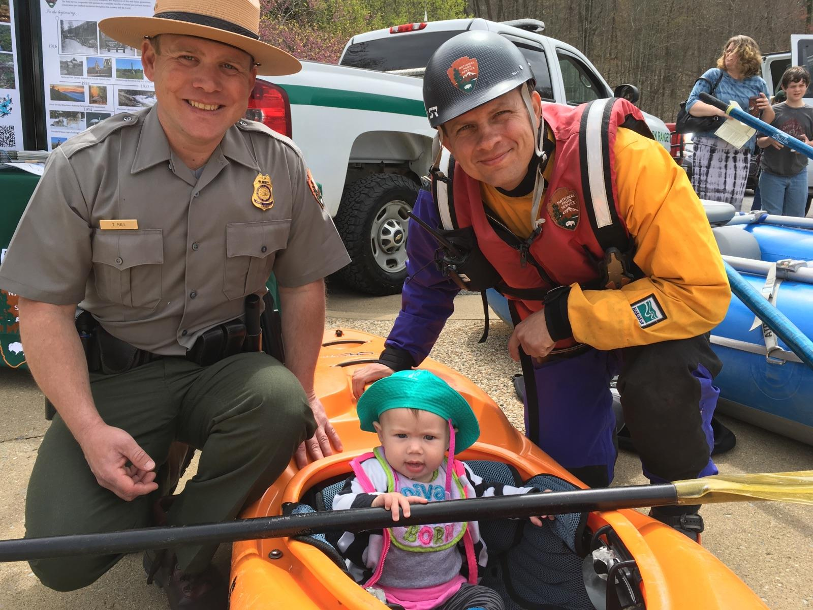 You're never too young (or old) to be a junior ranger