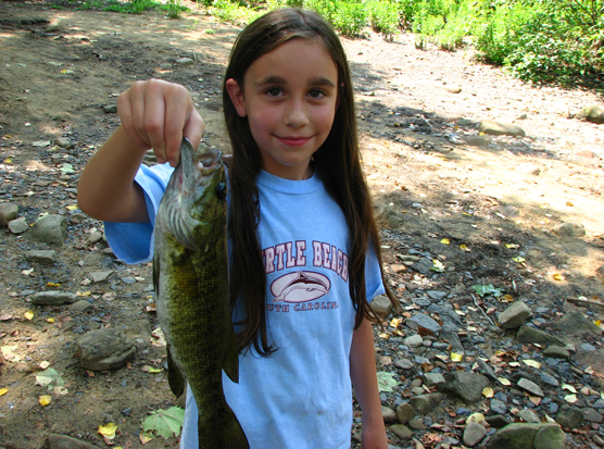 Katy's catch of the day.