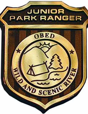 Obed Junior Ranger Badge