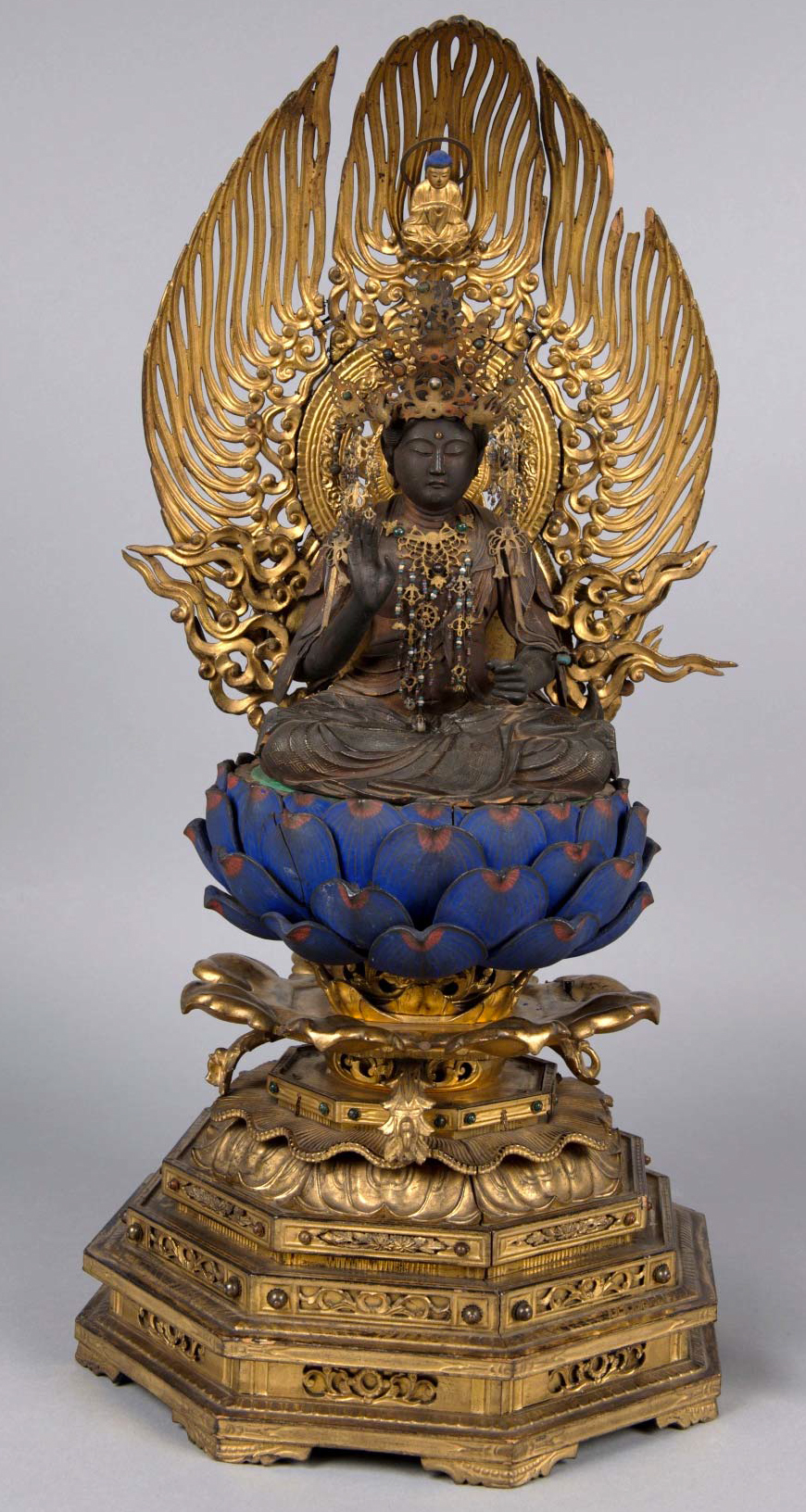 Japanese Buddhist Temple Statuette - Longfellow House Washington's