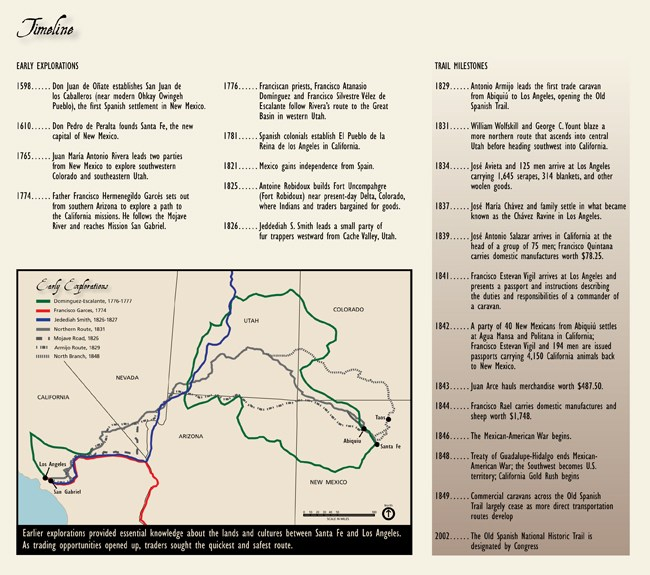 Maps - Old Spanish National Historic Trail (U.S. National ...