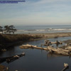 Kalaloch Creek and Pacific Ocean
