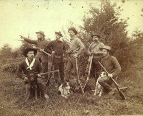 Historic photo of the members of the Seattle Press Expedition