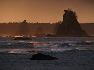 Coastal Sea Stacks