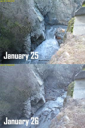 Elwha Blast #20 Before and After