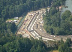 Elwha water facilities under construction