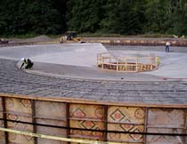 Construction of the Elwha Water Treatment Plant