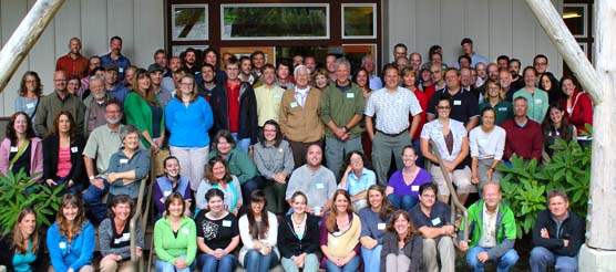 scientists at the Elwha River Science Symposium