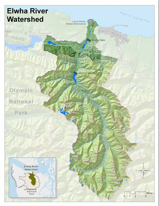 The Elwha Watershed Olympic National Park US