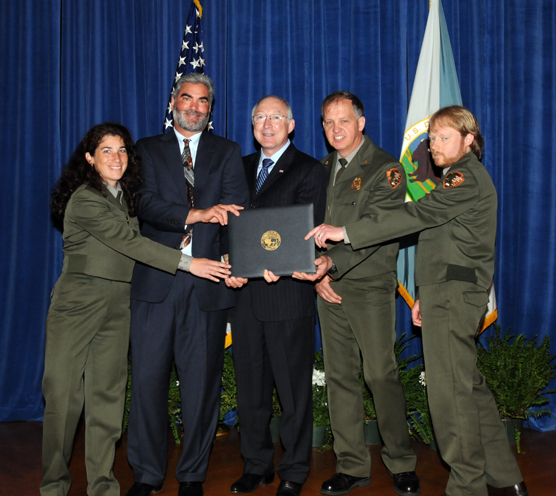 Four Olympic National Park Rangers Receive Department Of The Interior Valor Award Olympic