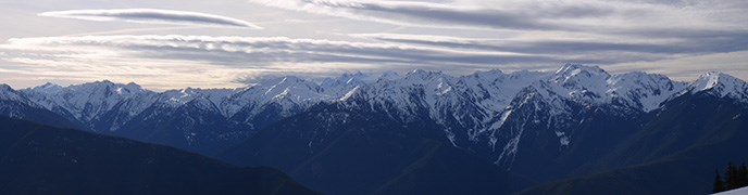 Bailey Range from Hurricane Ridge