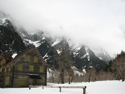 Enchanted Valley Chalet in Winter