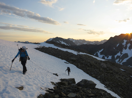 Pacific Alpine Guides  in ONP