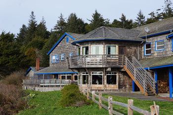 Superb Kalaloch Lodge Balcony