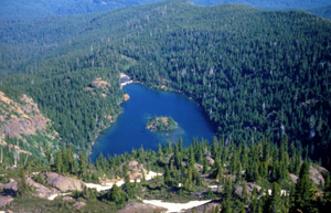 Lake angeles trail olympic national park u s national for Lake fishing near los angeles