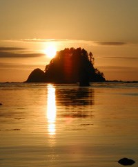 Sunset over Cape Alava