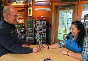 visitor buying pass